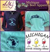 Michigan Wine & Beer Apparel