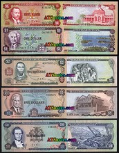 What the Jamaican Currency looks like.