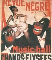 Le Revue Negre at the Theatre des Champs-Elysees