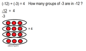 Example for dividing integers
