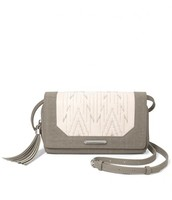 Nolita Medium Crossbody - Winter White/Dove Grey $89