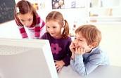 Interacción De Los Niños Y Las Computadoras