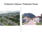 Población urbana - rural