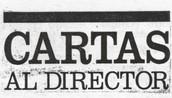 LA CARTA AL DIRECTOR/A