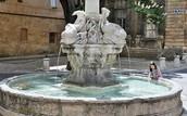 La Fontaine des Quatre-Dauphins