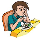 falta de apetito o dolor de estomago