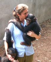 Chimpanzee Sanctuary Keeper
