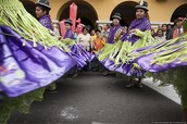 What celebrations do they  celebrate in Peru and why?
