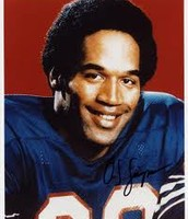 Autographed O.J picture