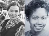 Rosa Parks & Claudette Colvin