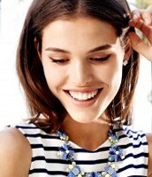 Elodie Necklace - Silver, current retail £75, my sample sale price £50