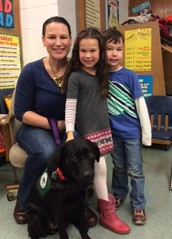 Dixie comes to Mrs. Junod's Class