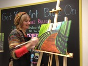 Artist Deb!  She's been here since DAY 1!