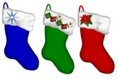 Why stockings and poinsettias?