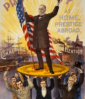 William McKinley Presidential Poster