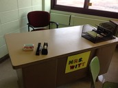 Mrs. Witt's still here! :)