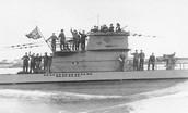 1915- (Febuary) Germans started using U-Boats