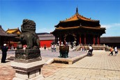 The forbidden city :the world largest ancient palace.