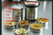 We Provide Healthy & Hygienic Lunch @ your door step
