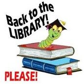 School Library Books Due Monday, May 9th