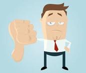 Employees have poor job satisfaction.
