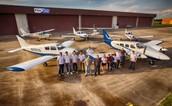 We are Kingsky Flight Academy!