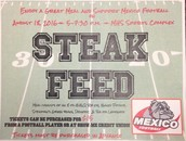 Steak Feed to Support MHS Football August 18, 2016