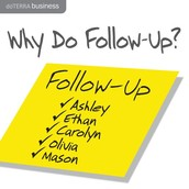 Why do follow up?