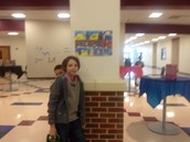 Unveiling Reception--6th Grade Artist