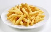 Las patatas fritas - French fries $3.50