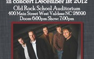 The Boxcars December 1st at 7pm