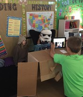 Making a movie in 5th Grade!