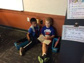 More reading to someone!