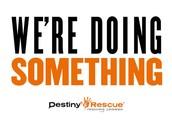 ALL DONATIONS GO TO DESTINY RESCUE
