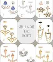 Ear Jackets- 3 looks in one!