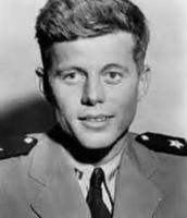Kennedy in uniform