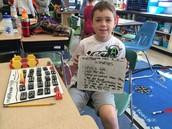 "Students Use Dominos and Slates to Create a ""Go Green"" Game!"