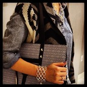 The City Tote - Mosaic Tile regularly $148 NOW $88.80