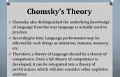 Chomsky's theory