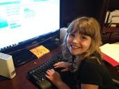Me Writing Code!