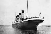 Titanic voor het gezonken is