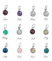 Birthstone Charms