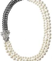 Daisy Pearl Necklace $76.80 (Reg $128)