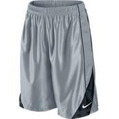Never wear basketball shorts