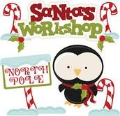 Santa's workshop Christmas eve party