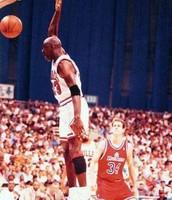"The sportsman earned nickname ""Air Jordan"""