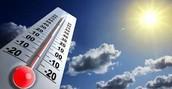 La temperatura se mide en grados centigrados .