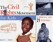 KIDS AND ADULTS PROTEST FOR AFRICAN AMERICANS CILVIL RIGHTS AND EDUCATION
