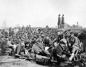 Confederate Army Resting