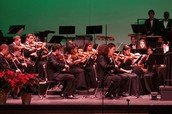 The Winter Concert is on Sunday, December 14th at 2:00 pm